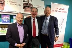 Foire de Bruxelles - Mr. François Renaud éditeur et Guy Pierlot avec Victor de Bock